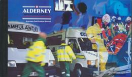 United Kingdom - Alderney MH5 (complete.issue.) Unmounted Mint / Never Hinged 2002 Social Services - Alderney
