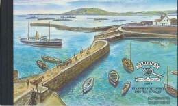United Kingdom - Alderney MH4 (complete.issue.) Unmounted Mint / Never Hinged 2001 History - Alderney