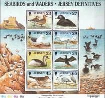 GB - Jersey Block 23 (completa Edizione) MNH 1999 Lago- E Trampolieri - Jersey