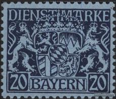 Bavaria D20 With Hinge 1916 State Emblem - Bavaria