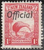 New Zealand D36A With Hinge 1936 Service Marks - 1907-1947 Dominion