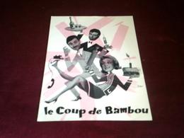 Coup De Bambou  Publicite Du Cinema - Posters
