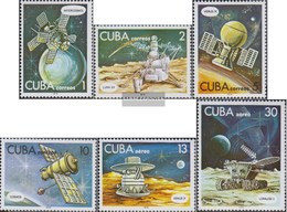 Kuba 2286-2291 (completa Edizione) MNH 1978 Giorno Il Spazio - Cuba