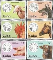 Kuba 2091-2096 (completa Edizione) MNH 1975 Progress In Il Veterinari - Kuba
