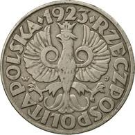 Monnaie, Pologne, 50 Groszy, 1923, Warsaw, TB+, Nickel, KM:13 - Pologne