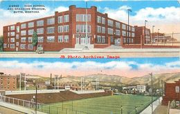 281493-Montana, Butte, High School & Naranche Stadium, EC Kropp No 13669 - Butte