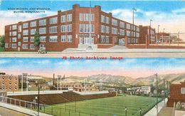 281495-Montana, Butte, High School & Naranche Stadium, EC Kropp No 13669 - Butte