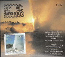 New Zealand Block40 (complete Issue) Unmounted Mint / Never Hinged 1993 Stamp Exhibition - Blocks & Sheetlets