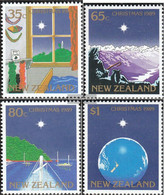 New Zealand 1084-1087 (complete Issue) Unmounted Mint / Never Hinged 1989 Christmas - Unused Stamps