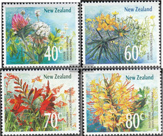 New Zealand 1062-1065 (complete Issue) Unmounted Mint / Never Hinged 1989 Flowers - Unused Stamps