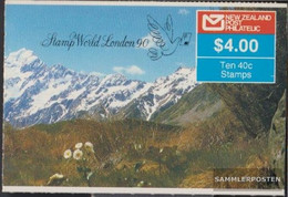 New Zealand 1051A MH (complete Issue) Stamp Booklet Unmounted Mint / Never Hinged 1988 Birds - Unused Stamps