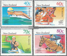 New Zealand 1033-1036 (complete Issue) Unmounted Mint / Never Hinged 1988 Olympia - Unused Stamps