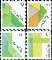 New Zealand 1006-1009 (complete Issue) Unmounted Mint / Never Hinged 1987 Flechtkunst - Unused Stamps