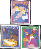 New Zealand 1003-1005 (complete Issue) Unmounted Mint / Never Hinged 1987 Christmas - Unused Stamps