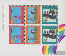 New Zealand 1000-1002 Sheetlet (complete Issue) Unmounted Mint / Never Hinged 1987 Health - Unused Stamps