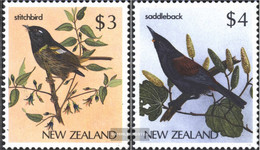 New Zealand 960-961 (complete Issue) Unmounted Mint / Never Hinged 1986 Birds - Unused Stamps