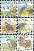 United Kingdom - Alderney 145A-150A (complete Issue) Unmounted Mint / Never Hinged 2000 Conservation - Alderney