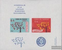 Paraguay Block 31 (completa Edizione) MNH 1962 Europa - Paraguay