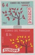 Paraguay 1132-1133 (completa Edizione) MNH 1962 Europa - Paraguay
