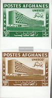 Afghanistan 475B-476B (complete Issue) Unmounted Mint / Never Hinged 1958 UNESCO-Building - Afghanistan