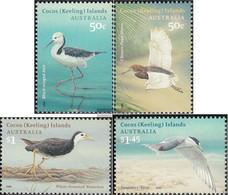 Kokos-Islands 448-451 (complete Issue) Volume 2008 Completeett Unmounted Mint / Never Hinged 2008 Birds - Cocos (Keeling) Islands