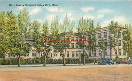 281513-Montana, Miles City, Holy Rosary Hospital, Foster Drug Co By Tichnor Bros No 72698 - Miles City