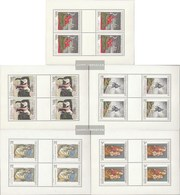 Czechoslovakia 1839-1843 Sheetlet (complete Issue) Unmounted Mint / Never Hinged 1968 Art - Unused Stamps