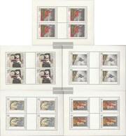 Czechoslovakia 1839-1843 Sheetlet (complete Issue) Unmounted Mint / Never Hinged 1968 Art - Tschechoslowakei/CSSR