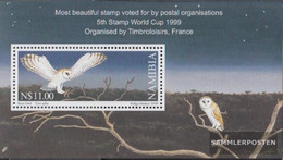 Namibia - Southwest Block51 (complete Issue) Unmounted Mint / Never Hinged 1999 Election To Beautiful Stamp - Namibia (1990- ...)