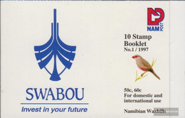 Namibia - Southwest 833-834MH (complete Issue) Unmounted Mint / Never Hinged 1997 Clear Brands: Birds - Namibia (1990- ...)
