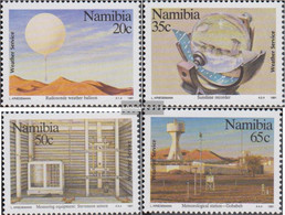 Namibia - Southwest 698-701 (complete.issue.) Unmounted Mint / Never Hinged 1991 100 Years Wetterdienst - Namibia (1990- ...)