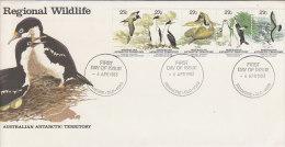 Australian Antarctic Territory 1983 Regional Wildlife - FDC