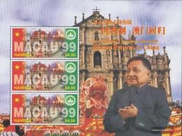 Namibia - Südwestafrika 902Klb Minifoglio (completa Edizione) MNH 1997 Ritorno Macao A Cina - Namibia (1990- ...)