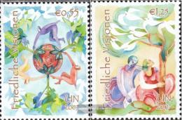 UN - Vienna 502-503 (complete Issue) Unmounted Mint / Never Hinged 2007 Peaceful Visions - Wien - Internationales Zentrum