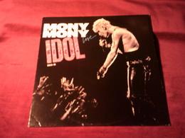 BILLY  IDOL   °  MONY MONY  MAXI  45 TOURS - 45 Rpm - Maxi-Single