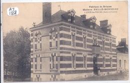 JOUE-LES-TOURS- FABRIQUE DE BRIQUES- MAISON PELLE-BONNEAU - Frankreich