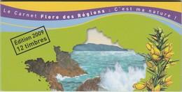 FRANCE  CARNET  BC291 **Flore De Nos Régions N°1 - Carnets