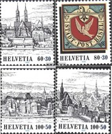 Schweiz 1554-1557 (completa Edizione) MNH 1995 Basler Dove 95 - Suisse