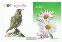 Spanien 4258-4259 (kompl.Ausg.) Postfrisch 2007 Flora Und Fauna - 1931-Heute: 2. Rep. - ... Juan Carlos I