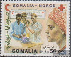 Somalia 396 (complete Issue) Unmounted Mint / Never Hinged 1987 Red Cross - Somalia (1960-...)