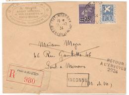 7652 - Colombe De La Paix - Postmark Collection (Covers)