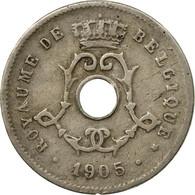 Monnaie, Belgique, 5 Centimes, 1905, B+, Copper-nickel, KM:54 - 03. 5 Centimes