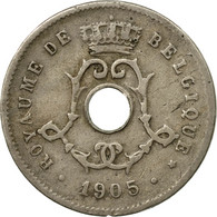 Monnaie, Belgique, 5 Centimes, 1905, B+, Copper-nickel, KM:54 - 1865-1909: Leopold II