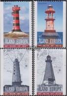 Finnland - Aland 296-299 (completa Edizione) Usato 2008 Fari - Ålandinseln