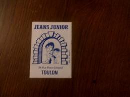 Autocollant Jeans Junior, Toulon - Stickers