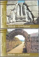 UN - Vienna 420-421 (complete Issue) Unmounted Mint / Never Hinged 2004 UNESCO-Welterbe - Wien - Internationales Zentrum