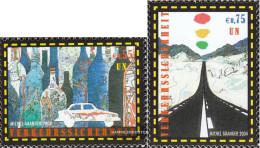 UN - Vienna 417-418 (complete Issue) Unmounted Mint / Never Hinged 2004 World Health Day - Ungebraucht
