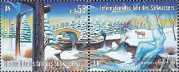 UN - Vienna 393-394 Couple (complete Issue) Unmounted Mint / Never Hinged 2003 International. Year Of Süßwassers - Wien - Internationales Zentrum