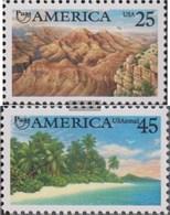 USA 2111-2112 (completa Edizione) MNH 1990 Natura - United States