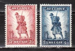 351/52**  Infanterie - Série Complète - MNH** - COB 440 - Vendu à 15% Du COB!!!! - Belgium